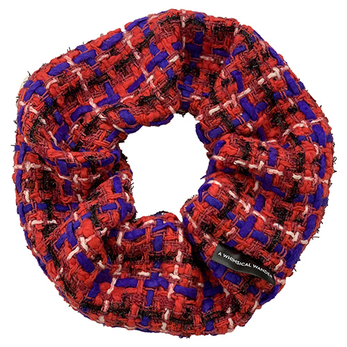 TWEED DONUT (RED)